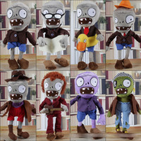 Wholesale plants zombies plush toys for sale - Mixed styles cm Plants Vs Zombies Stuffed Soft Plush Toys game Doll kids Christmas gift EMS shipping E203
