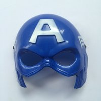 Superhero masque d'Halloween Costume univers Marvel Captain America enfant Masquerade Parti Eye Mask Hero Cosplay Peluche Eye