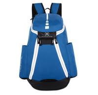 Wholesale Canvas Laptop Bags For Men - 2017 Brand Design Men Backpack for School Bag Teenagers Boys Laptop Bag Backbag Man Schoolbag Rucksack Mochila USA Elite Kevin Durant KD
