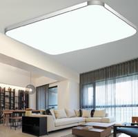 Wholesale Body Mount - 12 23 24 68 72 144W Aluminum LED ceiling light Alloy&PAMMA Acrylic Lamp Body,Rectangular&Square Shape Energy-saving,5730LED ceiling lamp