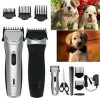 Wholesale Low Noise Cat Hair Clipper - Low-noise Electric Animal Pet Dog Cat Hair Trimmer Shaver Razor Grooming Clipper