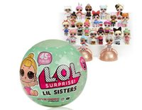 Wholesale Different Baby Dresses - Series 2 - LOL Surprise Dolls Ball 7CM*7CM Sisters Dress up Toys Surprise Fancy Eggs With Different Function For Girls WITHOUT BOX