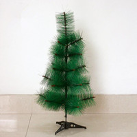 Wholesale christmas pine wreath - artificial christmas trees 60cm 23.6 inch simulation small pine needle tree pine needle tree decorations field Christmas wreath CT003P