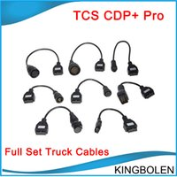 Wholesale Truck Prices - Wholesale price delphi cdp+ full set 8 truck cables for cdp plus Free Shipping