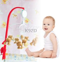 All'ingrosso- 35 Song Rotary Baby Mobile Culla Letto giocattolo Movimento a orologeria Carillon Infant Bell N01