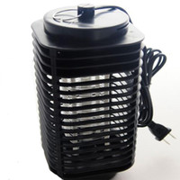 Wholesale New Electric Lamp - 2015 new hot 1pcs Lamp Fly Bug Insect 220V Electric Mosquito Zapper Killer With Trap EU plug