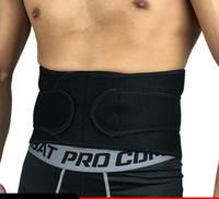 ingrosso trimmer di vita-Sport cintura Prevenzione di ernia del disco lombare allenamento di pallacanestro Sollevamento pesi esercizio addome clothi protettivo in vita