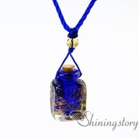 Wholesale Aromatherapy Glass - essential oil necklace diffuser jewelry aromatherapy jewelry diffusers oil diffuser jewelry diy essential oil diffuser necklace