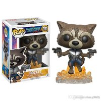Wholesale Toy Garage Kits - Zorn Store-Funko POP Guardians of the Galaxy Dryad Groot Cartoon Garage Kits Model Q version Rocket raccoon Star lord Drax Gamora dolls Toys