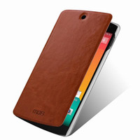 Wholesale Google Mobile Wallet - Wholesale-Genuine Leather Wallet Stand Case For LG Google Nexus 5 E980 D820 D821 Mobile Phone Bag Cover Black Retail Package Free Shipping