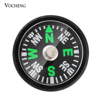 Wholesale Plate Compass - Vocheng NOOSA Fashion Compass Custom Snap Button Imitation Platinum Plated Jewelry Ginger Snap Jewelry Accessories (Vn-350)