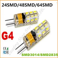 Wholesale G9 Halogen Lamp Light Bulb - 2015 new Car Boat High Power LED Lamp SMD2835 3014 3W 4w 5w 7w 9W DIMMABLE AC DC12V G4 G9 bulb Replace 30W-50W halogen bulb LED light lamp