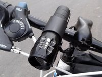 Mode Vélo Hot Lumière 7 Watt 2000 Lumens 3 Mode CREE Q5 LED Bike Light allume Front lampe torche lampe étanche + Holder Torch