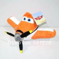 Wholesale Plush Dusty Plane - Free shipping 1pcs 25cm=9.8inch Hot sales PLANE Plush Toy, Dusty Baby  Kids Toy Gift