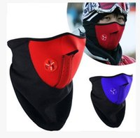Wholesale Cheap Bicycle Caps - Men Women face mask 3 color Fashion face mask Winter Ski cycling cheap Unisex Bike motorcycle bicycle Ski Skating MTB RF1