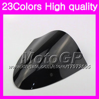 Wholesale N Ninja - 23Colors Windscreen For KAWASAKI NINJA ER-6N 09-11 ER6N ER 6N ER 6 N 09 10 11 2009 2010 2011 Chrome Black GPear Smoke Windshield