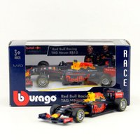 Wholesale Toy 43 - Free Shipping Bburago Toy Diecast Metal Model 1:43 Scale 2016 Red Bull Racing Team TAG Heuer RB12 F1 Car Educational Collection