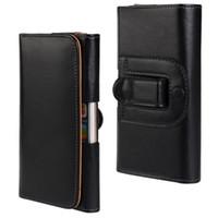 Wholesale Elegant Case For Iphone - For iPhone 6 Plus Elegant Texture Lichee Side Flip Magnetic Holster Belt Leather Case