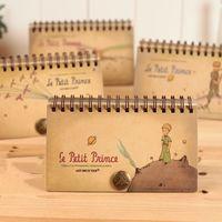 Wholesale Little Notebooks Wholesale - Wholesale- Vintage Stationery Retro Little Prince Spiral Notebook Notepad Planner Schedule Book Agenda Organizer School Office Supplies