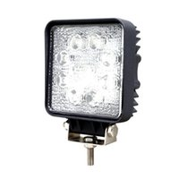 Wholesale Work Led 24w - 24W 8-LEDs LED Work Light Square OffRoad SUV ATV 4WD 4x4 Spot Beam IP67 12V 24V for Jeep Truck Driving drop shipping