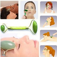 Wholesale Massage Tools For Face - Jade roller massager Women Lady Facial Relaxation Slimming Tool Jade Roller Massager For Face Body Head Neck Foot Massaging