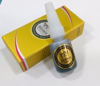 Wholesale Eyes Lash Extension Glue - Wholesale-Korea Original Quality Non Smell False Eyelash Glue Grafting Tools False Eye lashes extension Glue Quick Dry Long Lasting black