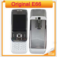 Symbian original keyboard - In Stock Original Nokia E66 Unlocked G Mobile Phone WIFI GPS Bluetooth Russian Keyboard refurbished Cell Phone