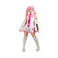 Wholesale Vocaloid Sakura Miku - Milica Books Japanese Anime VOCALOID Family SAKURA MIKU Cosplay Costume - The Deluxe Original Version Japan Import