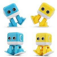 Wholesale Electronic Robot Toys For Wholesale - RC Cubee Robot F9 Smart intelligent Dance Robot toy Electronic Walking Toys App control Robot Gift For Kids Education Toy