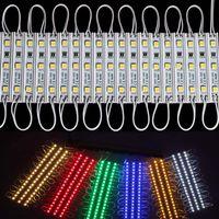 12v led-modul ip65 wasserdicht großhandel-LED-Module SMD 5050 LED imprägniern wasserdichte IP65 LED-Zeichen DC12V SMD 3 LED-Hintergrundbeleuchtung für Kanalbuchstaben warm / kühles weißes rotes Blau