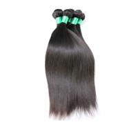 28 человеческих волос с увеличенной головкой оптовых-6A бразильские девственные волосы прямые уток волос ткать расширения полная голова естественный цвет Dyeable Отбеливаемые необработанные 100% человеческих волос Реми 1шт