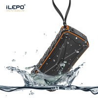 Wholesale hi box - iLEPO IP66 Waterproof Bluetooth Speaker With 4500mAh Power Bank Function Dual 8W Output Subwoofers Portable Wireless Speaker Better Charge 3