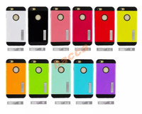 Wholesale I Phone Holders - Armor holder Case mobile phone Case for iPhone6 Plus i Matte cover for iphon6plus with holder