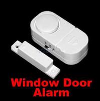 drahtlose fensteralarme großhandel-Mode Hot Wireless Tür Fenster Eintrag Alarmanlage Sicherheit Security Guardian Protector
