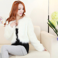 Wholesale Dress Jacket Leather Woman - Leather grass in autumn and winter warm coat jacket fashion wedding dress short paragraph Slim female fox fur fur shipping