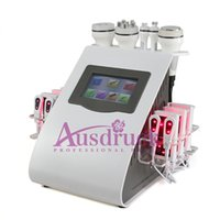 Wholesale Cavitation Pads - New arrival 10 pads Lipo diode Laser LLLT Ultrasonic Cavitation Vacuum Radio Frequency BIO Tripolar RF Machine BEAUTY LS80