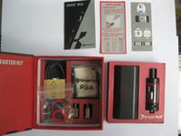 Wholesale Kanger Starter Set - Kanger Subox Mini Starter kit 50W 0.3ohm e cigarette Clone SUBOX Mini Set VS CE3 battery