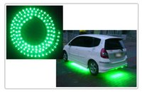 Wholesale 48cm Green Led Strip - 100 Piece Car Truck LED Strip Lights Light DIY flexible PVC White Yellow Green Red Blue 24cm 24LED 48cm 48LEDs By DHL