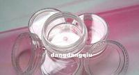ingrosso contenitori glitter per arte del chiodo-All'ingrosso-Spedizione gratuita 80pcs / Lot Nail Art Glitter Polvere polvere Scatola vuota Case Chiaro Contenitore Bottiglia 3g 3gram / Jar unghie strumenti