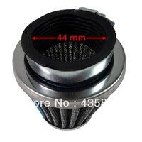 Wholesale Mini Moto Bikes - GY6 125cc 150cc Scooter Moped Air Filter Cleaner 44mm For Mini Moto Dirt Pit Bike ATV Quad Scooter Buggy Pocket
