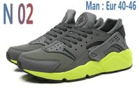 Wholesale Green Slip Shoes - 2016 New Men trainers huraches Sneakers Casual Running Shoes chaussure Femme Sport huarches