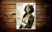 Wholesale Bioshock Figure - Free shipping 24x38 inch,BioShock Infinite GAME,elizabeth,Poster HD HOME WALL Decor Custom ART Silk PRINT unframed -336