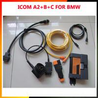 bmw icom c venda por atacado-Preço de promoção ICOM A2 Plus B C 2016 para BMW ICOM A2 + B + C para BMW DiagnosticProgramming 3 em 1 BMW ICOM A2 DHL Frete Grátis