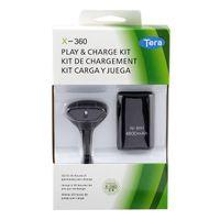 pil takımı kablosu xbox toptan satış-Yedek Pil Paketi Oynamak XBOX 360 Kablosuz Denetleyicisi için Şarj Kablosu Kiti Gamepad USB Şarj Şarj Dock Veri Pilleri