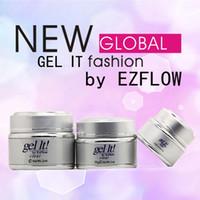 Wholesale Ezflow Builder - EzFLOW Builder gel Foundation Nail Gel polish Pink Clean White colors Nail Art LED UV soak off