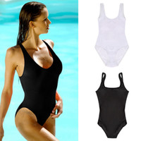 Wholesale Thong One Piece Bathing Suits - fashion Style Sexy Monokini Swimsuit One Piece Swimwear Fashion Bandage Bodysuit Backless Thong Bottom Bathing Suits 2015 new