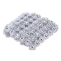 1 Yard 6 Roll Silber Strass Hochzeit Diamant Mesh Party Dekorative Bling Mesh Band