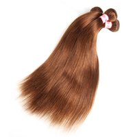 peru saç ürünleri vücut dalgası toptan satış-Siyusi Saç Ürünleri Perulu Bakire Insan Saç Demetleri Vücut Dalga / Düz Saç Uzantıları Doğal Renk # 2 # 27 # 99J # 30