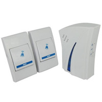 Wholesale Wireless Digital Music - 9510FD2 Wireless Remote Control Digital Doorbell 150 meter 32 music Doorbell Door Bell Chime 1 receivers 2 emitter