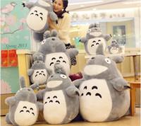 Wholesale Anime Miyazaki Hayao - Japanese Anime Miyazaki Hayao Cute Totoro Plush Stuffed Animal toy doll 20cm